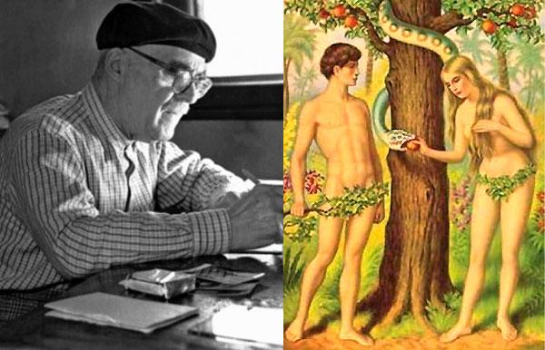 Adam şi Eva de Tudor Arghezi