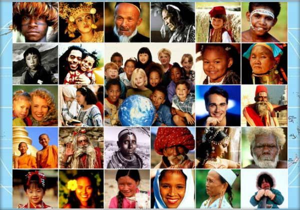 Structura rasială, Rasa europeană, Rasa mongoloidă, Rasa ecuatorială, Amestecul raselor