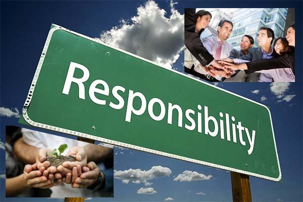 Responsabilitatea, Tipuri de responsabilităţi