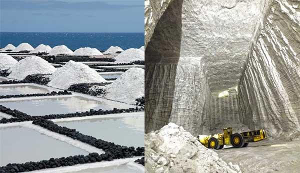 Resursele de subsol (minereurile feroase şi neferoase, substanţele chimice nemetalifere, sarea, zăcămintele de potasiu, fosforitele, sulful)