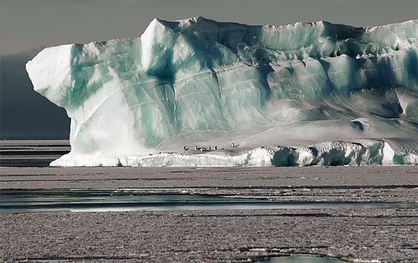 Încălzirea climatică, Topirea calotelor glaciare şi a gheţarilor montani