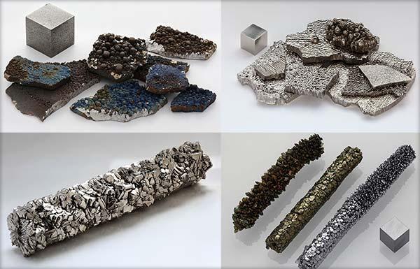 Mangan - Cobalt - Titan - Vanadiu