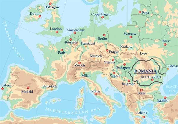 Spaţiul românesc, Spaţiul european